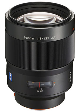 ソニー・オーストラリアで「Sonnar T* 135mm F1.8 ZA」がディスコンになる模様。