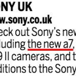 The Photography Showの公式文書に「新型α7」と表記されている模様。