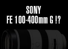 FE 100-400mm F4.5-5.6 G OSS