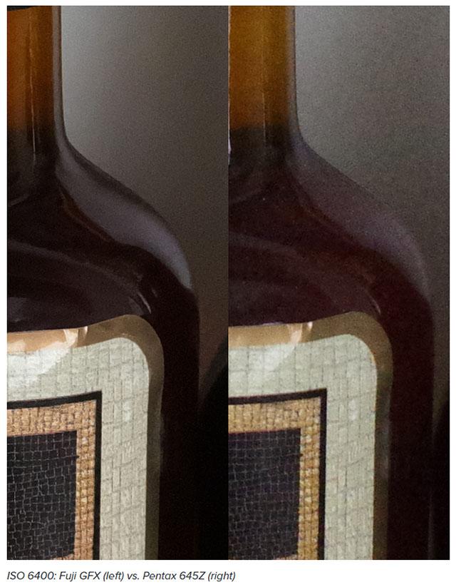 富士フイルム GFX 50S vs PENTAX 645Z!中判センサー高感度画質対決。