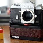 35mmフィルムカメラをデジカメ化する「I'm Back」の新バージョンが登場した模様。