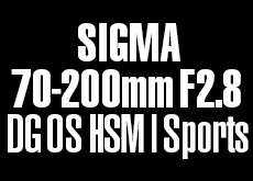 SIGMA 70-200mm F2.8 DG OS HSM | Sports