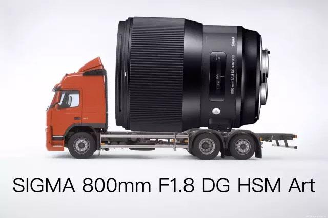 シグマ「800mm F1.8 DG HSM | Art」