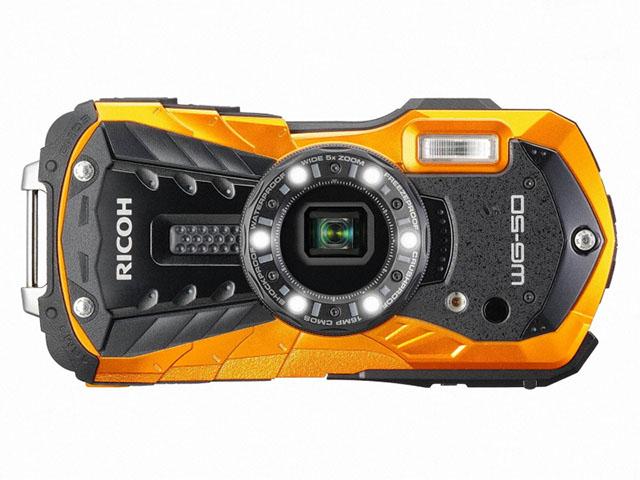 リコー 防水・耐衝撃のタフネスカメラ「RICOH WG-50」