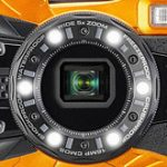 リコーが防水・耐衝撃のタフネスカメラ「RICOH WG-50」を正式発表。