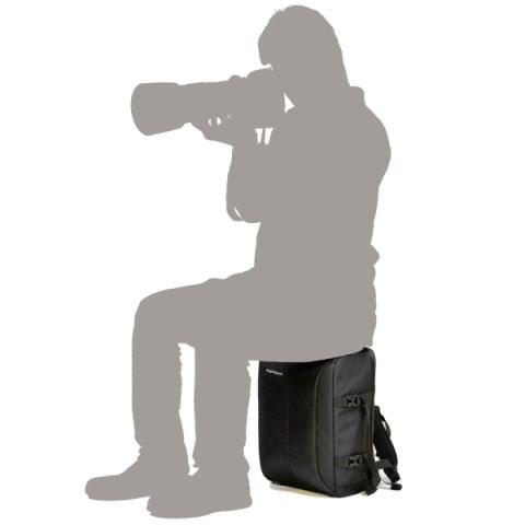 座れるカメラバッグ 「aosta フォンタナⅡ ISリュック」