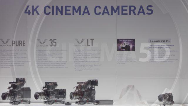 NAB2017でパナソニックが発表した布が被った謎のカメラは、EFマウント機の模様。