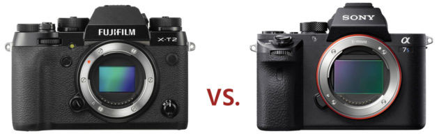 4K対決 X-T2 vs α7S II!