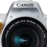 キヤノンEOS Kiss X7後継機(X8?X9?)は、やはりデュアルピクセルCMOS AF搭載の模様。ホワイト&シルバーの画像もリーク。