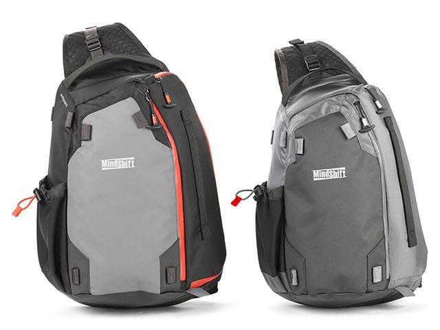 三脚が取り付けられるアウトドアフォトグラファー向けスリング型カメラバッグ「MindShift Gear PhotoCross」