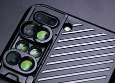 レンズが6個付いたiPhone 7 Plus用ケース「SHIFTCAM」