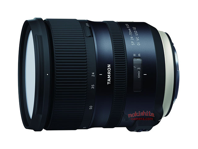 タムロン「SP 24-70mm F/2.8 Di VC USD G2(Model A032)」