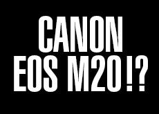 キヤノン EOS M20
