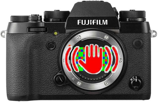 富士フイルムがボディ内手ブレ補正搭載のXシリーズを開発中