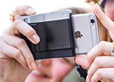 iPhoneを完全にデジカメ化するiPhone用カメラグリップ「Pictar One」