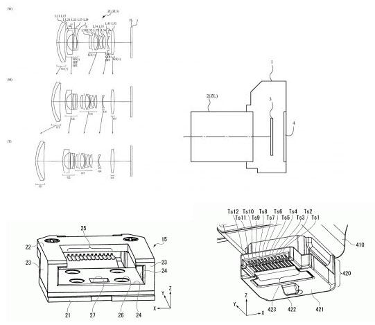 ニコンのフルサイズミラーレス用レンズ「24-68mm f/2.8-4」の特許