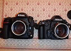 ニコンD850とDfの比較
