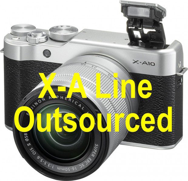 富士フイルムは、GFXに注力するため、X-Aシリーズの開発を外部委託している!?