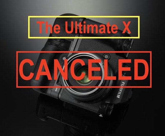 富士フイルムが「究極のXシリーズ」の計画を中止した!?現在はX-T2Sの開発のみに取り組んでいる!?