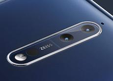 ZEISSのデュアルカメラ搭載スマホ「Nokia 8」