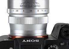ソニーEマウント用レンズ「CREATOR 35mm F2」「CREATOR 85mm F2」発売