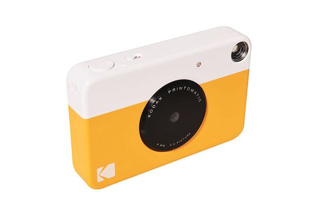 コダックのデータ保存も可能なインスタントカメラ「PRINTOMATIC」