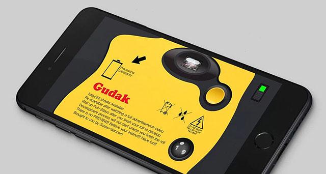 撮影後に現像期間が3日かかるスマホ用カメラアプリ「Gudak Cam」