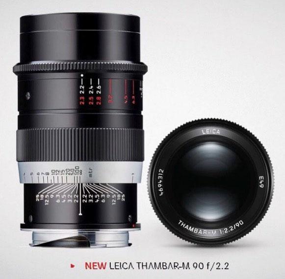 ライカ THAMBAR-M 90mm f/2.2