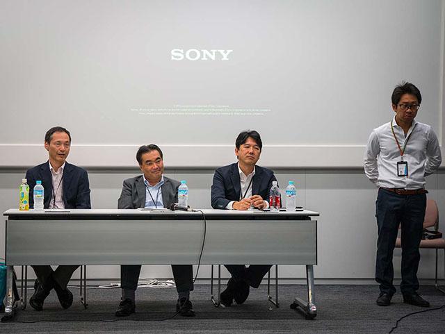 ソニーは中判カメラを作ろうと思えば、必要な全てのモノは揃っている。
