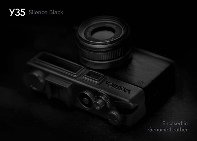 ヤシカ digiFilm Y35 Silence Black