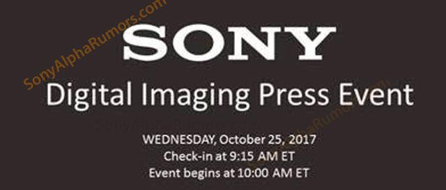 ソニーが10月25日午前10時にニューヨークで大規模なプレスイベントを行う!?