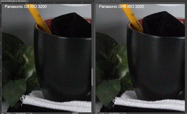 パナソニックG9 vs GH5