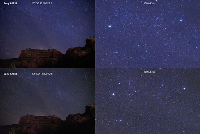 ソニーα7R IIIは「星喰い」問題が解消している模様。