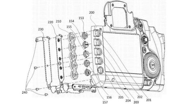 キヤノンが一眼レフに背面ボタンイルミネーションを採用する!?EOS 7D Mark III!?