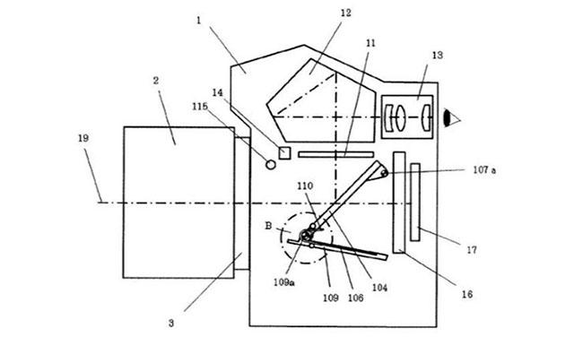 キヤノンがハイブリッドビューファインダー搭載の一眼レフを開発中