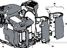 キヤノンがグリップ内に新しいタイプの放熱システムを開発中!?