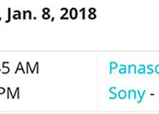1月8日のCESでパナソニックとソニーが記者会見をする模様。パナソニックはGH5s、ソニーはアクションカメラを発表!?