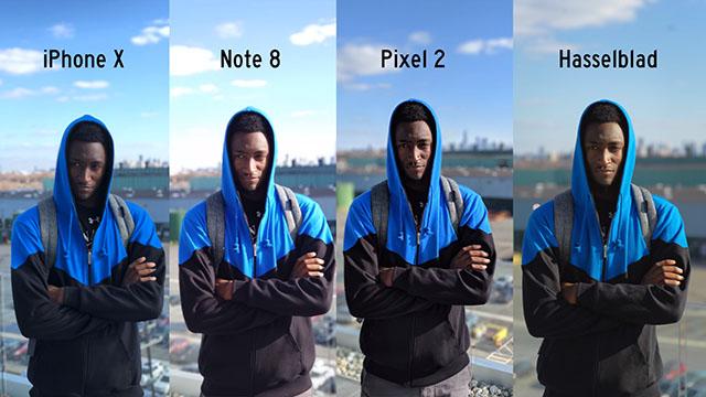 スマホのポートレートモード vs HASSELBLAD X1D。パッと見は大差は感じられない!?