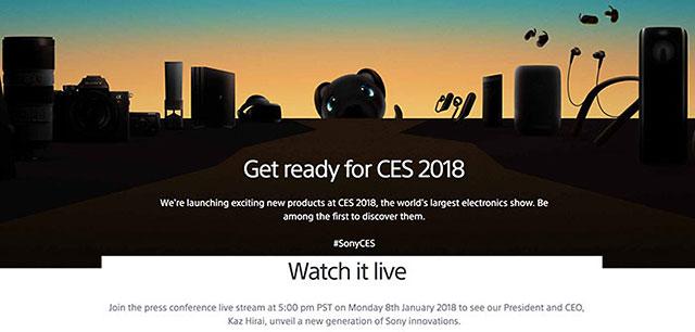 ソニーがCES 2018のプレスカンファレンスでα関連の発表をする!?α5000シリーズの新型機!?