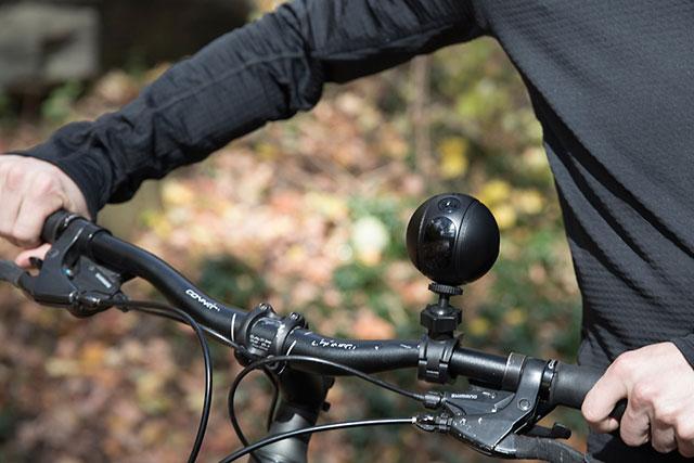 ドローンやアクションカム、セキュリティカメラにもなる球体型カメラ「PITTA」