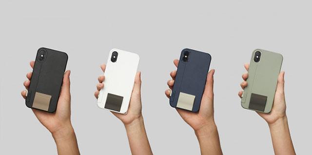 iPhone X用シャッターボタン付スマホケース「SNAP! X」