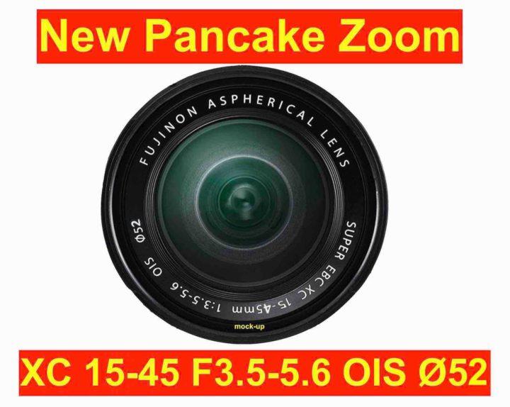 富士フイルム パンケーキズーム「XC15-45mmF3.5-5.6 OIS」