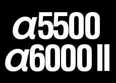 α5500、α6000 II