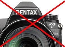PENTAX K-3 IIが生産終了品になった模様。