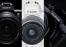 α7 III vs X-H1 vs EOS Kiss M!