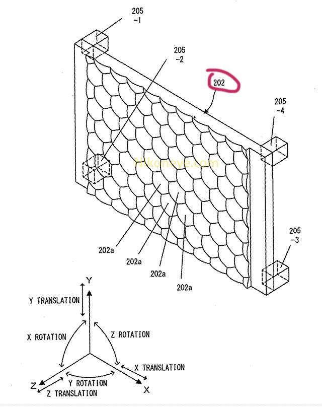ニコンの新しい方式のボディ内手ブレ補正システム