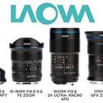 Venus Opticsが、LAOWAレンズシリーズの新製品を4本発表。「LAOWA 10-18mm f/4.5-5.6 FE Zoom」「LAOWA 100mm f/2.8 2X Ultra Macro APO」「LAOWA 17mm f/4 GFX Zero-D」「LAOWA 4mm f/2.8 Fisheye MFT」