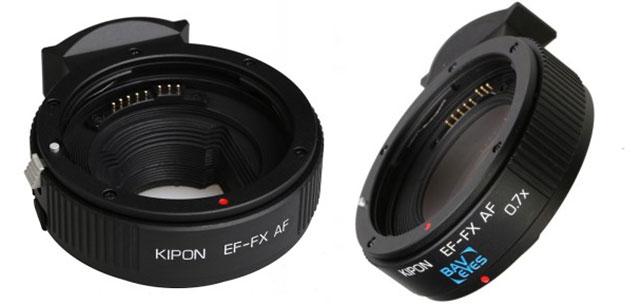 XシリーズでEFレンズがAFで利用可能に。KIPONマウントアダプター「EF-FX AF」とフォーカルレデューサー「Baveyes EF-FX AF 0.7x」が発売開始。