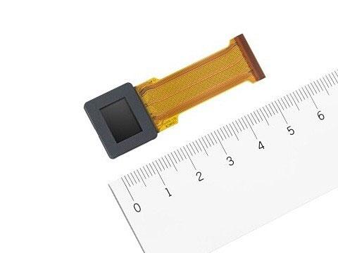 ソニーが0.5型のUXGA有機ELマイクロディスプレイ発表。フレームレートは240fpsで、低消費電力も実現。
