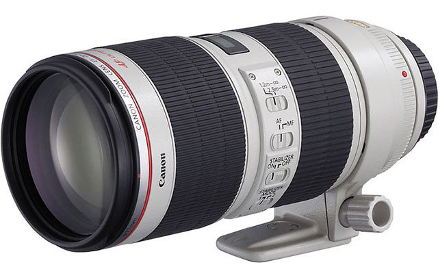 キヤノンの「EF70-200mm F4L IS II USM」は近日中に発表されるが、「EF70-200mm F2.8L IS III USM」は2018年後半になる!?